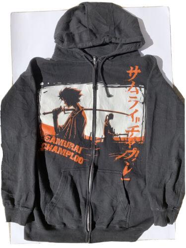 Samurai Champloo Vintage Anime Cartoon Jacket/Hood