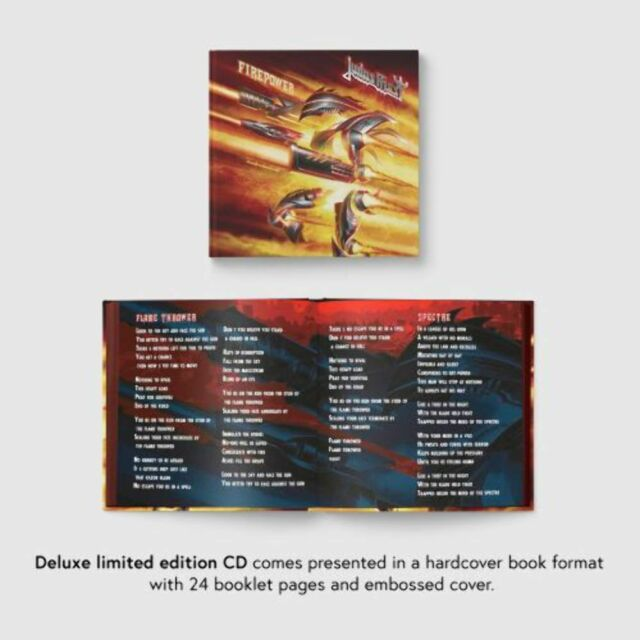Judas Priest - Firepower (Spec. Deluxe Ed. Mediabook) - CD - New