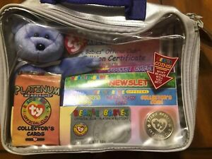 e50e7456c12 Image is loading TY-Beanie-Babies-Official-Club-Platinum-Edition-Membership-