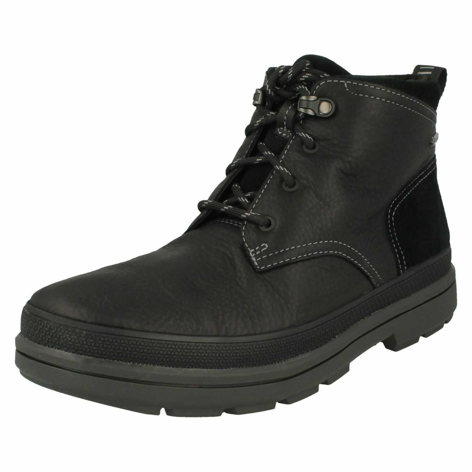 Mens Clarks Gore-Tex Casual Boots 'Rushway Mid'