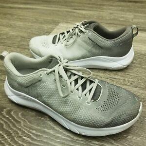 HOKA-ONE-ONE-Hupana-2-EG-Grey-Mens-Athletic-Running-Shoes-Size-11-5