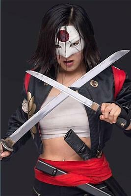 Karen Fukuhara Suicide Squad Tatsu Yamashiro Katana Leather Jacket