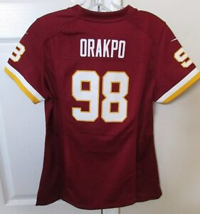 763bcfb6b Image is loading NFL-Washington-Redskins-98-Brian-Orakpo-Replica-Jersey-