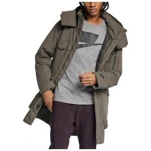 los Incorporar septiembre  NIKE Sportswear Tech Pack Down Fill Parka 928912-001 Newsprint (MEN'S  LARGE) L 888507411877 | eBay
