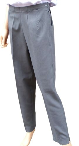 CATHEDRAL Ladies Showerproof Treated Coated Polyester Grey Bowling Trousers