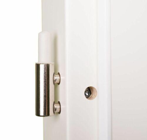 Zimmertür Innentür Komplettset Weißlack Tür mit Zarge Glas HORI Estella Türgriff