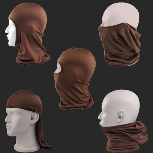 Full Face Mask lycra Balaclava Ultra-thin Motorcycle Cycling Ski Neck Cover