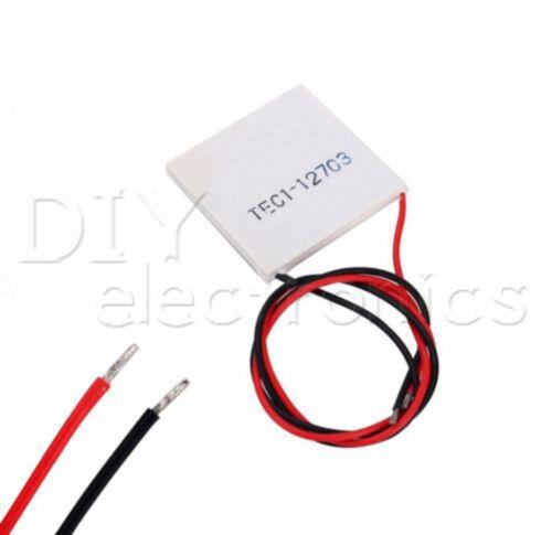 TOP TEC1 12703 12715 Heatsink Thermoelectric Cooler Cooling Peltier Plate
