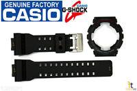 Casio Ga-110-1a G-shock Original Black Band & Bezel Combo