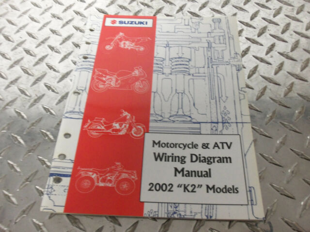 2002 Suzuki Motorcycle  U0026 Atv Wiring Diagram Manual 99923