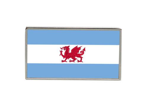 Argentina Flag Lapel Pin Badge Welsh Patagonia Y Wladfa Gymreig
