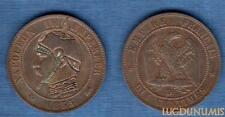 2nd Empire, 1852-1870 – 10 Centimes Satirique II 1855 D Lyon Napoléon III