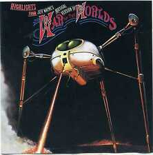 Highlights from Jeff Wayne's Musical version of War of the Worlds CD