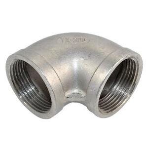 1-1-4-034-Elbow-90-Degree-Stainless-Steel-304-Female-Threaded-Pipe-Fitting-NPT