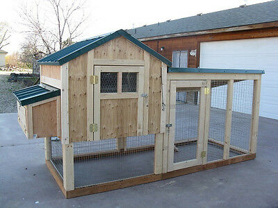 6 Chicken coop plans & material lists