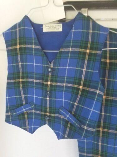 Vintage Boy's Vest and Long Pants Nova Scotia Tar… - image 1