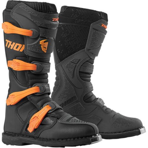 MOTOCROSS Stiefel Thor Blitz XP Enduro Quad für KTM schwarz Orange