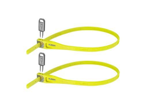 Hiplok Z-Lok wiederverwendbares Kabelbinderschloss 2er Set Doppelpack leicht