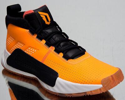 adidas performance DAME 5 VEGAS flash orangeftwr white
