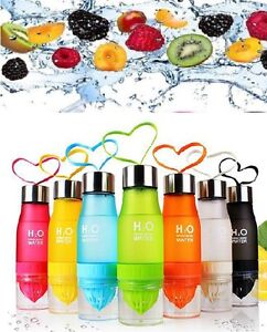 h2o fruit infuser water bottle detox slimming water infusing infusion drink ebay. Black Bedroom Furniture Sets. Home Design Ideas