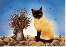 POSTCARD CARTE POSTALE ILLUSTRATEUR ANNA HOLLERER N° LA 127 / CAT / CHAT