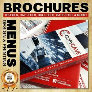 BROCHURE PRINTING | Canadas BEST rates + $20 OFF COUPON | We also offer low cost flat rate design services Canada Preview