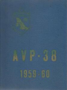 ☆ USS DUXBURY BAY AVP-38 ARABIAN COAST DEPLOYMENT CRUISE BOOK YEAR LOG 1959-60 ☆