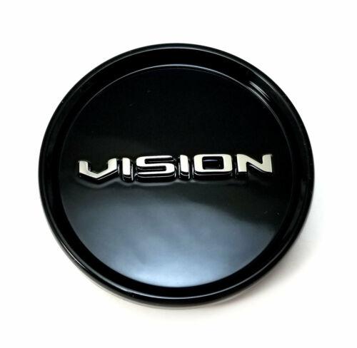 Vision Wheel Center Hub Cap Gloss Black for 388 Shadow C388GB-55ECV