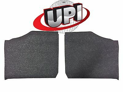15-18 POLARIS RANGER 570 MID SIZE RUBBER FLOOR MATS W// FOAM BACKING MADE IN USA