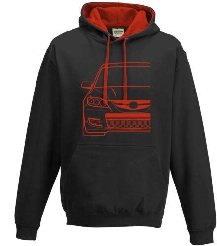 Mazda 3 MPS BK Hoodie Pull