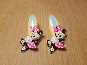 Disney-Minnie-Mouse-Surfboard-Potato-Chips-Bag-Clip-Kitchen-Collectible-Lot-of-2