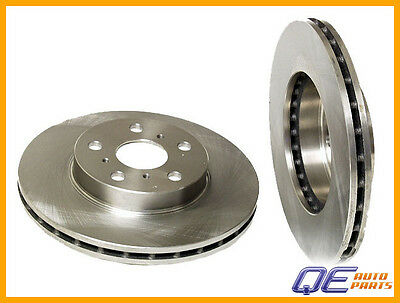 Front Disc Brake Rotor Pair Set for 87-91 Toyota Camry