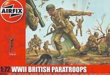 Airfix Britische Fallschirmjäger British Paratroopers Diorama 1:72 Figures kit