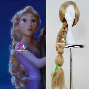 Disney Movie Tangled Princess Rapunzel Wig Super Long ...