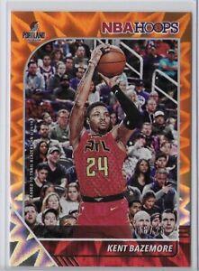 2019-20 NBA Hoops Kent Bazemore Orange Explosion SSP /25 No. 4