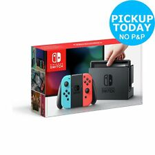 Nintendo Switch 32GB WiFi Console - Neon Red/Blue.