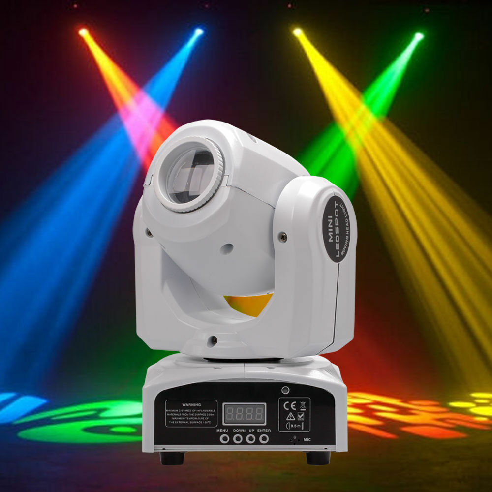 30W RGBW Stage Light Beam LED Moving Head Lights DMX Disco D