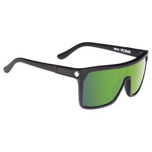 3c30e60e721f Spy Flynn Sunglasses Matte Black w  Happy Bronze Green Spectra Lens ...