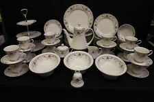 MINT 82 Pc Noritake Fine Ivory China ADAGIO #7237, Service for 12, Japan  (137)