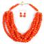 Women-Bohemian-Choker-Chunk-Crystal-Statement-Necklace-Wedding-Jewelry-Set thumbnail 135