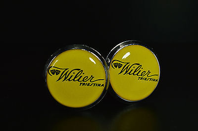 Wilier Triestina Handlebar End Plugs Bar Caps lenkerstopfen bouchons vintage 2