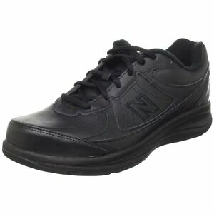 Image is loading New-Balance-MW577-Leather-Lace-Mens-MW577-Black-