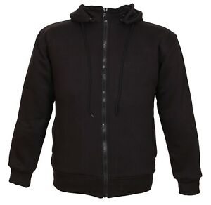 Weise Stealth Motorcycle Hoodie CE Armour
