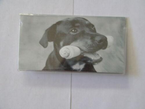 Checkbook Cover Dog Bones