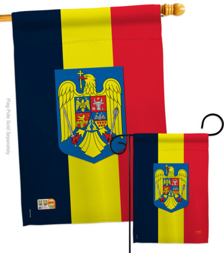 Romania Garden Flag Regional Nationality Small Decorative Gift Yard House Banner