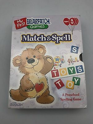Suzy's Zoo Briarpatch Match & Spell Preschool Spelling Learning Game New Sealed Other Alphabet & Language Toys Toys & Hobbies