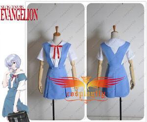 Evangelion-EVA-School-Summer-Uniform-Cosplay-Costume-Custom-Made