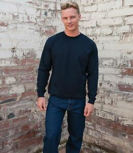 Homme Russell Heavy Duty Col Sweat-shirt Russel Euro LOURDES laver J012M 60 Degré