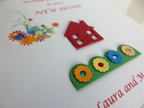 New Home Card Moving Home New House House Warming Personalised