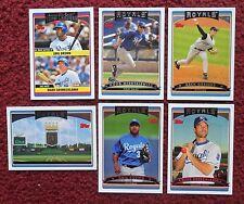 2006 Topps Kansas City Royals Baseball Team Set w/ Update (26 Cards) ~ GREINKE +